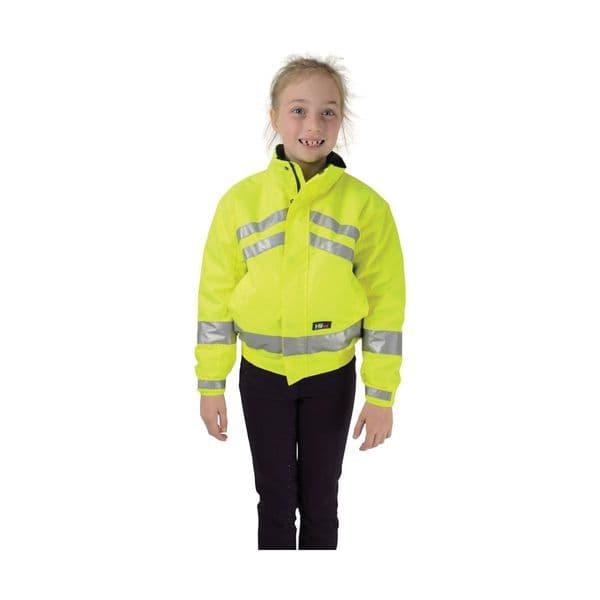 Hyviz reflective waterproof children's blouson - yellow
